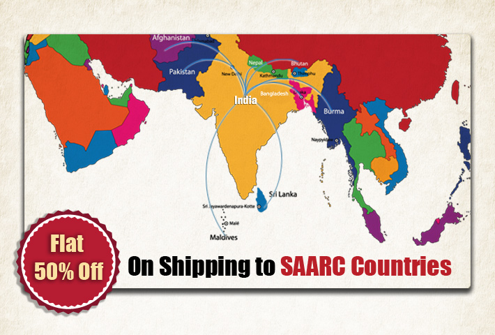 Shipping Books to SAARC Countries